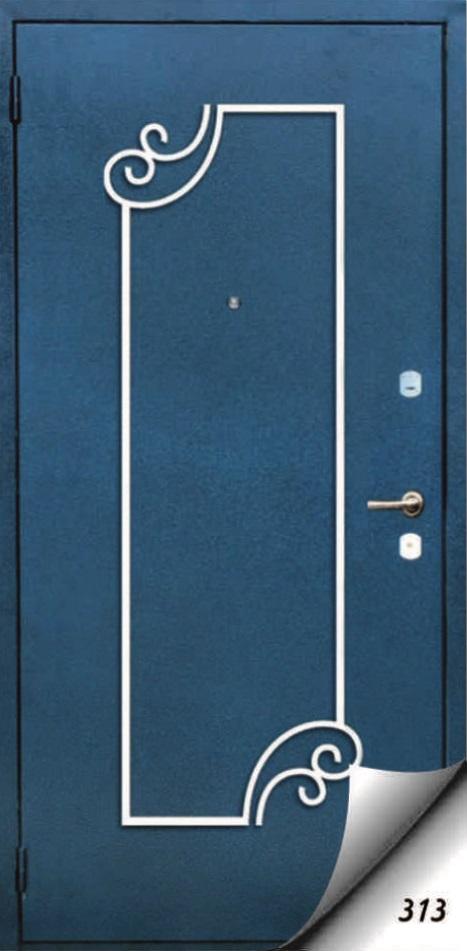 стальные двери с ковкой в серпухове