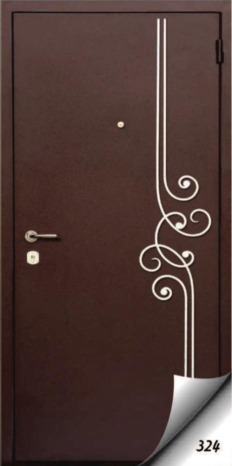 металические входные двери с ковкой